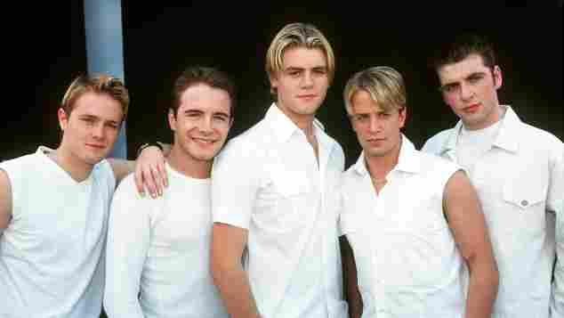 Die irische Band Westlife im Jahr 1999