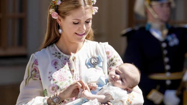 Madeleine von Schweden und Prinzessin Adrienne