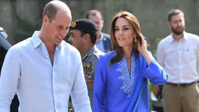 Herzogin Kate muslimische Tracht