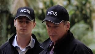 Sean Murray und Mark Harmon