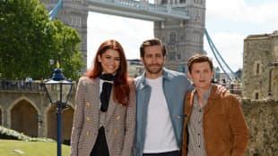 Tom Holland, Zendaya und Jake Gyllenhaal