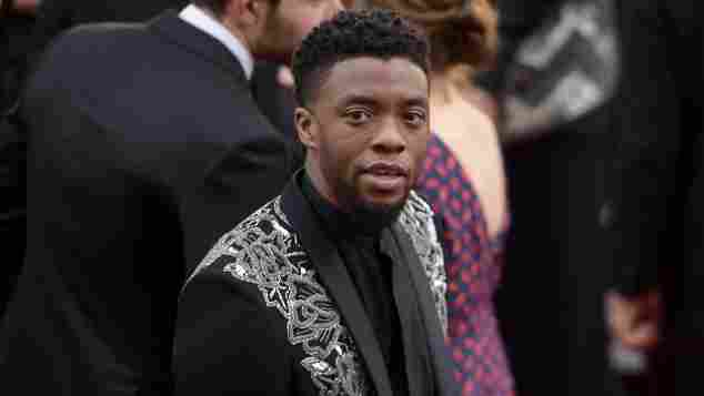 Chadwick Boseman bei der 90. Oscar-Verleihung am 4. März 2018