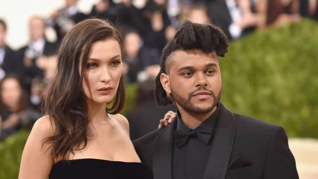 Bella Hadid The Weeknd Met Gala