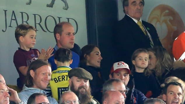 Prinz William, Herzogin Kate, Prinz George, Prinzessin Charlotte