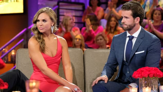 """Im Finale entschied sich US-""""Bachelorette"""" Hannah Brown für Kandidat Jed Wyatt"""