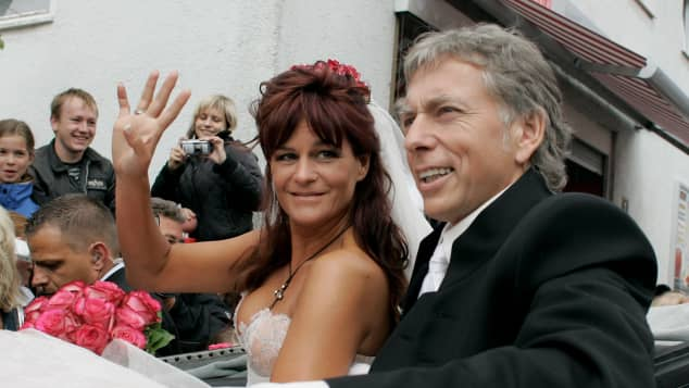 Andrea Bergs Hochzeit mit Uli Ferber