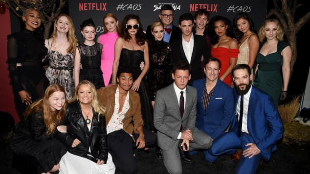 "Das ist der ""Chilling Adventures of Sabrina""-Cast"