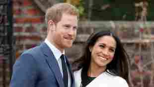 Prinz Harry und Herzogin Meghan am Tag der Bekanntmachung der Verlobung am 27. November 2017