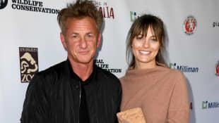 Sean Penn frau Leila George
