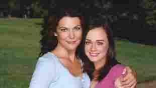 Lauren Graham und Alexis Bledel gilmore girls