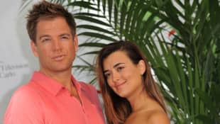 Michael Weatherly und Cote de Pablo