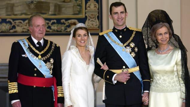 Königin Letizia Hochzeit