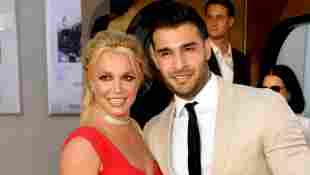 Britney Spears Sam Asghari Premiere Once Upon A Time...In Hollywood Los Angeles