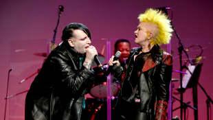 Marilyn Manson und Cyndi Lauper