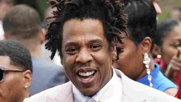 Jay-Z beim Roc Nation Brunch am 25. Januar 2020 in Los Angeles, Kalifornien