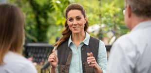 Herzogin Kate besucht ein Gartencenter