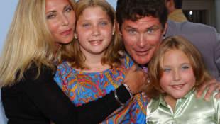 Pamela Bach, Taylor-Ann Hasselhoff, David Hasselhoff und Hayley Hasselhoff