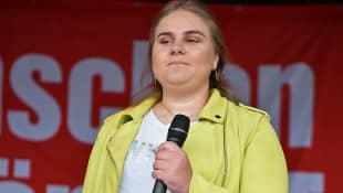 Estefania Wollny bei einer Veranstaltung im Mai 2019