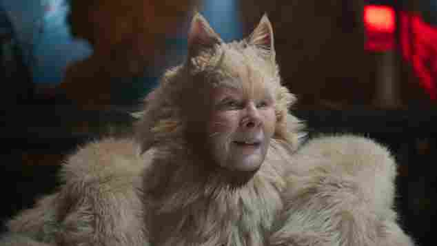 "Judi Dench im Film ""Cats"""