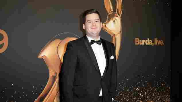 Chris Tall auf dem roten Teppich bei der Verleihung des Bambi 2019 am 20. November 2019