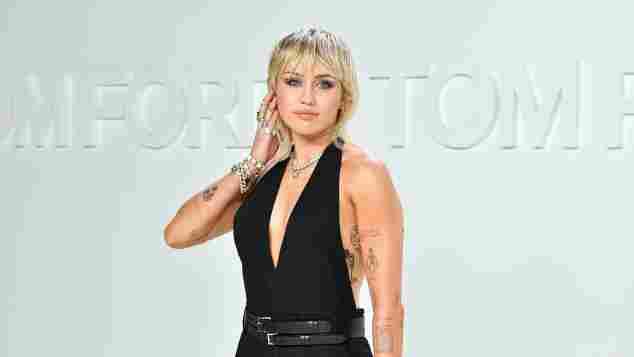 Miley Cyrus bei der Tom Ford AW20 Show in Hollywood am 7. Februar 2020
