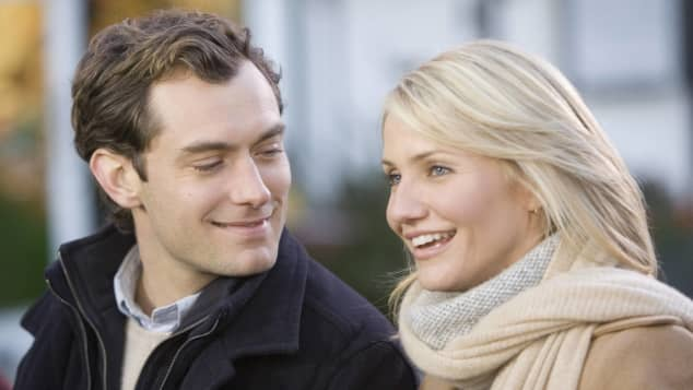 """Jude Law und Cameron Diaz in """"Liebe braucht keine Ferien"""""""