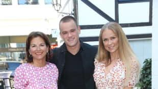 Paul Elvers, Claudia Obert und Jenny Elvers