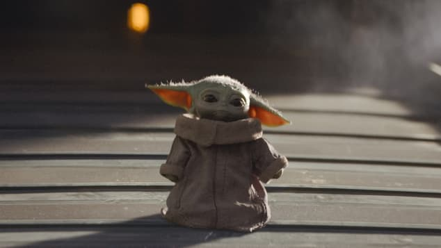 """Baby Yoda"" in ""The Mandalorian"""