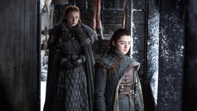 """Sophie Turner und Maisie Williams in """"Game of Thrones"""""""