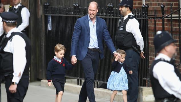 Prinz William, Prinz George und Prinzessin Charlotte