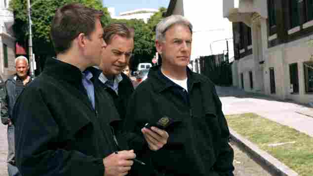 ncis Michael Weatherly, Sean Murray, Mark Harmon