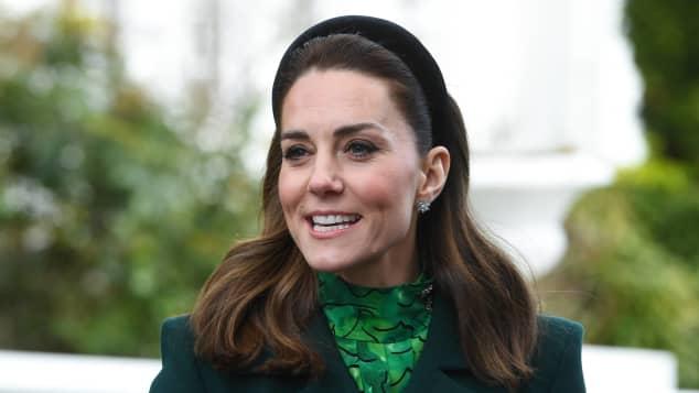 Herzogin Kate Irland grün