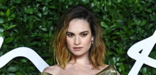 """Lily James bei den """"Fashion Awards"""" in London 2019"""