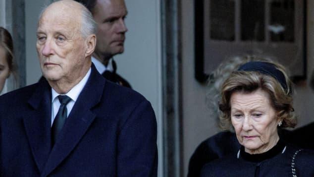 König Harald und Königin Silvia