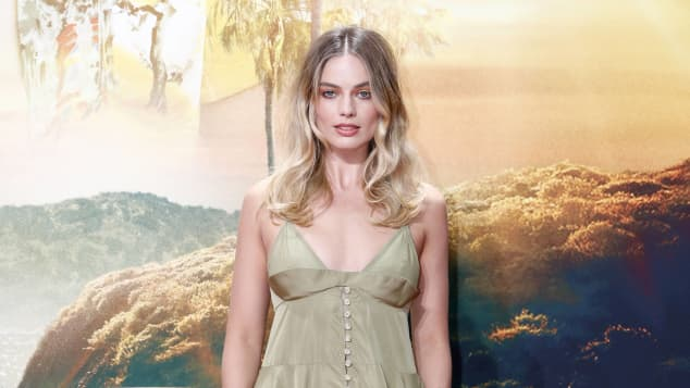 Margot Robbie roter Teppich Once upon a time in Hollywood
