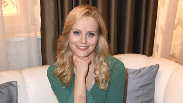 """Jenny Löffler spielt in """"Sturm der Liebe"""" die Rolle der """"Annabelle"""""""