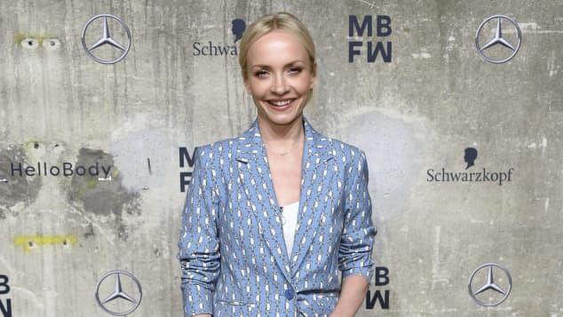 Janin Ullmann auf der Berlin Fashion Week 2020