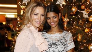 Jessica Stockmann und ihre Tochter Nisha