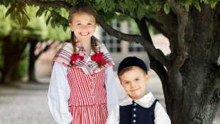 Prinzessin Estelle und Prinz Oscar