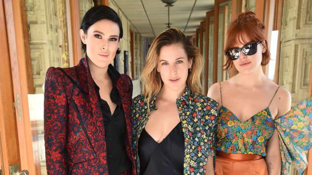 Die drei Töchter von Demi Moore und Bruce Willis Rumer, Scout und Tallulah