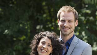 Pauline Jentzsch und Leonard Stahl