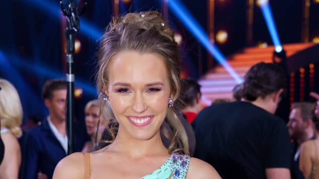 "Laura Müller bei ""Let's Dance"""