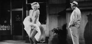 """""""Das verflixte 7. Jahr"""": Marilyn Monroe und Tom Ewell"""