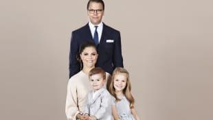Prinzessin Victoria, Prinz Daniel, Prinzessin Estelle und Prinz Oscar