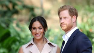 On the second day of Duchess Megan and Prince Harry's visit to Johannesburg on October 2, 2019