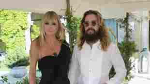Heidi Klum und Tom Kaulitz bei einem Fashion-Event von Dolce & Gabbana am 29. August 2021 in Venedig