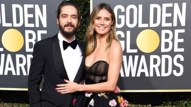 Tom Kaulitz und Heidi Klum bei den Golden Globe Awards in Beverly Hills 2019