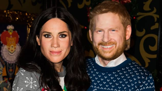 Madame Tussauds  Harry  Meghan Wachsfiguren