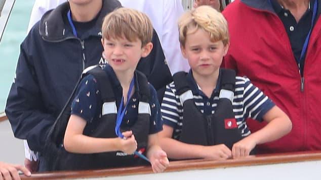 Prinz George und Michael Middleton