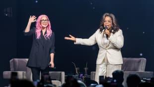 Lady Gaga und Oprah Winfrey